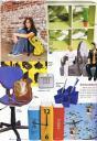 """Žurnāls """"Una"""" 2008. gada septembrī - rakstāmlietu trauks """"Desk Gimp"""" no Black+Blum"""